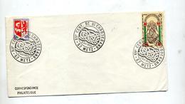 Lettre Cachet Metz Centenaire Saint Chrodegang - Marcophilie (Lettres)