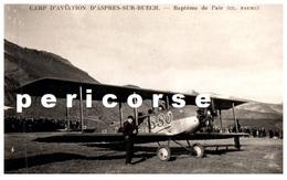 05  Camp D'aviation D'Aspres Sur Buech  Baptème De L'air (rare) - Autres Communes