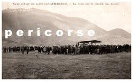 05  Camp D'aviation D'Aspres Sur Buech  La Foule Sur Le Terrain  (rare) - Autres Communes