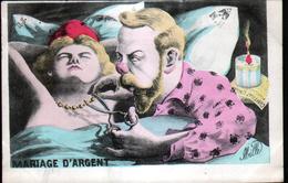 Illustrateur Politique Satirique Mille, Mariage D'argent, Mariane - Mille
