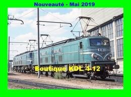 AL 583 - Loco 2D2 9128 Au Dépôt - VILLENEUVE SAINT-GEORGES - Val De Marne - SNCF - Matériel
