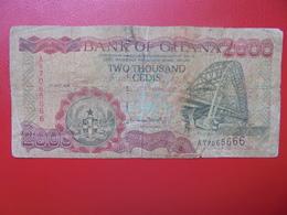 GHANA 2000 CEDIS 1999 CIRCULER (B.4) - Ghana