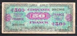 624-France Trésor Billet De 5 Francs 1944 - 360 Série 2 - Treasury