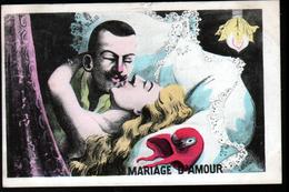 Illustrateur Politique Satirique Mille, Mariage D'amour, Mariane - Mille