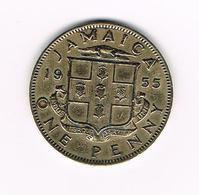 //  JAMAICA  1 PENNY  1955 - Jamaique