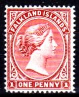 Falkland-0001-A - Emissione 1882-96 (+) LH - Senza Difetti Occulti. - Falkland