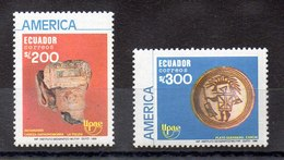 Serie De Ecuador Nº Yvert 1195/96 ** UPAE - Ecuador