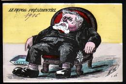 Illustrateur Politique Satirique Mille, Le Repos Presidentiel - Mille