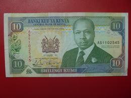 KENYA 10 SHILINGI 1992 CIRCULER (B.4) - Kenia