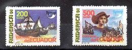 Serie De Ecuador Nº Yvert 1231/32 ** UPAE - Ecuador
