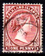 Falkland-0001-C - Emissione 1882-96 - Senza Difetti Occulti. - Falkland