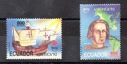 Serie De Ecuador Nº Yvert 1252/53 ** UPAE - Ecuador