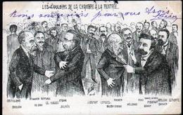 Illustrateur Politique Satirique Mille, Les Couloirs De La Chambre A La Rentree - Mille