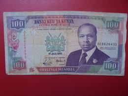 KENYA 100 SHILINGI 1990 CIRCULER (B.4) - Kenia