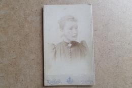 Carte De Visite - Portrait De Femme - Photographe FEBALDA - Krakowie - Cracovie ( Pologne ) - Photos