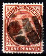 Falkland-0001-D - Emissione 1882-96 - Senza Difetti Occulti. - Falkland