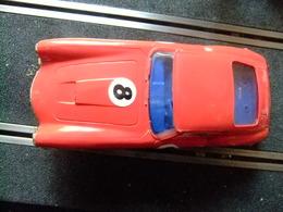 SCALEXTRIC Tri-Ang FERRARI 250 GT BERLINETTA MM / C 69 Rojo N 8 Con Caja Repro - Circuitos Automóviles