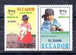 Serie De Ecuador Nº Yvert 1373/74 ** UPAE - Ecuador