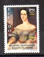 Serie De Ecuador Nº Yvert 1430 ** UPAE - Ecuador