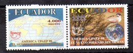 Serie De Ecuador Nº Yvert 1473/74 ** UPAE - Ecuador