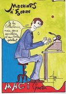 Secretaire Machine à Ecrire Writting Machine Secretary Signed Faraboz Limited Edition 1000 Ex. Format 10/15 - Autres