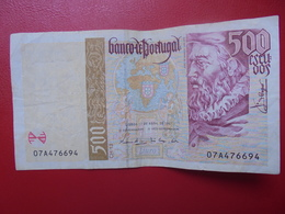 PORTUGAL 500 ESCUDOS 1997 CIRCULER (B.4) - Portugal