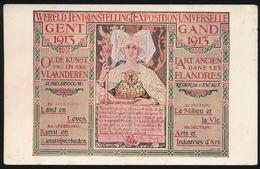 GENT  - AFBEELDING VAN AFICHE  1913  WERELDTENTOONSTELLING - Gent