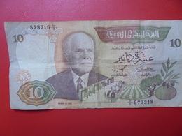 TUNISIE 10 DINARS 1986 CIRCULER (B.4) - Tunisie