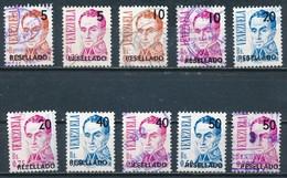 °°° VENEZUELA - Y&T N°1554/63 - 1991 °°° - Venezuela
