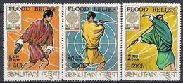 Bhutan 209/211 ** MNH. 1968 - Bhután