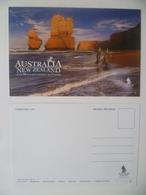 Vintage ! SINGAPORE AIRLINES Colour Postcard - Australia New Zealand (#16-2) - Papiere