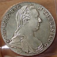 AUTRICHE 1 Thaler  Marie-Thérèse 1780 Vienne Frappe Moderne - Austria