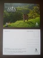 Vintage ! SINGAPORE AIRLINES Colour Postcard -Southeast Asia (#16-1) - Papiere