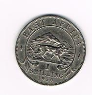 //  EAST  AFRICA  1 SHILLING  1950 - Colonies