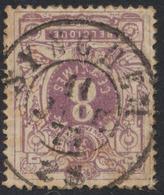 """émission 1869 - N°29 Obl Double Cercle """"Synghem"""" / Belle Frappe, Timbre De Second Choix. - 1869-1888 Lion Couché"""