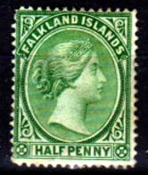 Falkland-0003-B - Emissione 1891-96 (+) LH - Senza Difetti Occulti. - Falkland