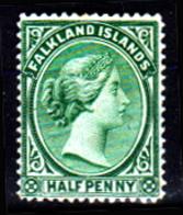 Falkland-0003-C - Emissione 1891-96 (+) LH - Senza Difetti Occulti. - Falkland