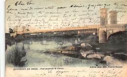 PARCEY : Pont Suspendu De Parcey - Tres Bon Etat - France
