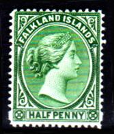 Falkland-0003-D - Emissione 1891-96 (+) LH - Senza Difetti Occulti. - Falkland