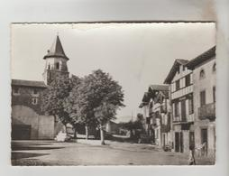 CPSM AINHOA (Pyrénées Atlantiques) - L'Eglise Et Le Fronton - Ainhoa