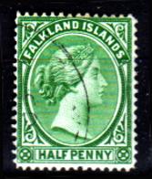 Falkland-0003-E - Emissione 1891-96 - Senza Difetti Occulti. - Falkland