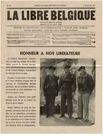 La Libre Belgique N° 85 - 3/09/1944 - Nouvelle Série De Guerre - Honneur à Nos Libérateurs - 2 Scans - 1939-45