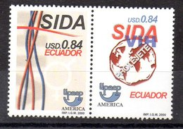 Serie De Ecuador Nº Yvert 1532/33 ** UPAEP - Ecuador