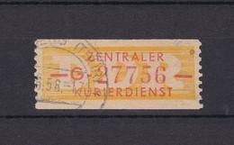 DDR - 1958 - Dienstmarken B - Michel Nr. 16 G - 35 Euro - Dienstpost