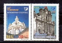 Serie De Ecuador Nº Yvert 1621B/C ** UPAEP - Ecuador
