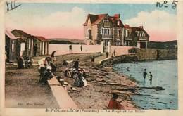 29* ST POL DE LEON Plage            MA90,0916 - Saint-Pol-de-Léon