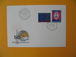 FDC Luxembourg   1987  -  Lot De 8   FDC  à Voir - FDC