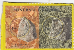CROATIA Block 48,used,nice Cut On Paper - Minerals
