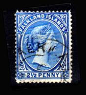 Falkland-0003-M - Emissione 1891-96 - Senza Difetti Occulti. - Falkland
