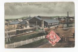 Australie Queensland Brisbane Roma Street Railway Station PK CPA Postcard - Brisbane